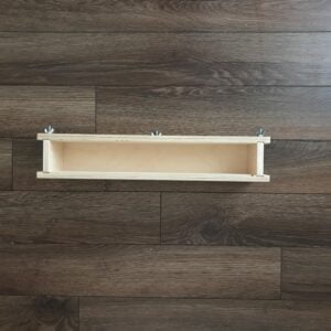 SMW-4D Deep wood soap mold