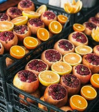 pomegranate orange fragrance